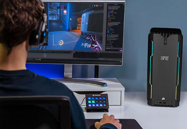 В основу игрового десктопа Corsair One i200 положен процессор Intel Rocket Lake