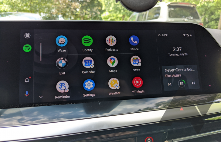 Android 10 взвинтила загрузки Android Auto