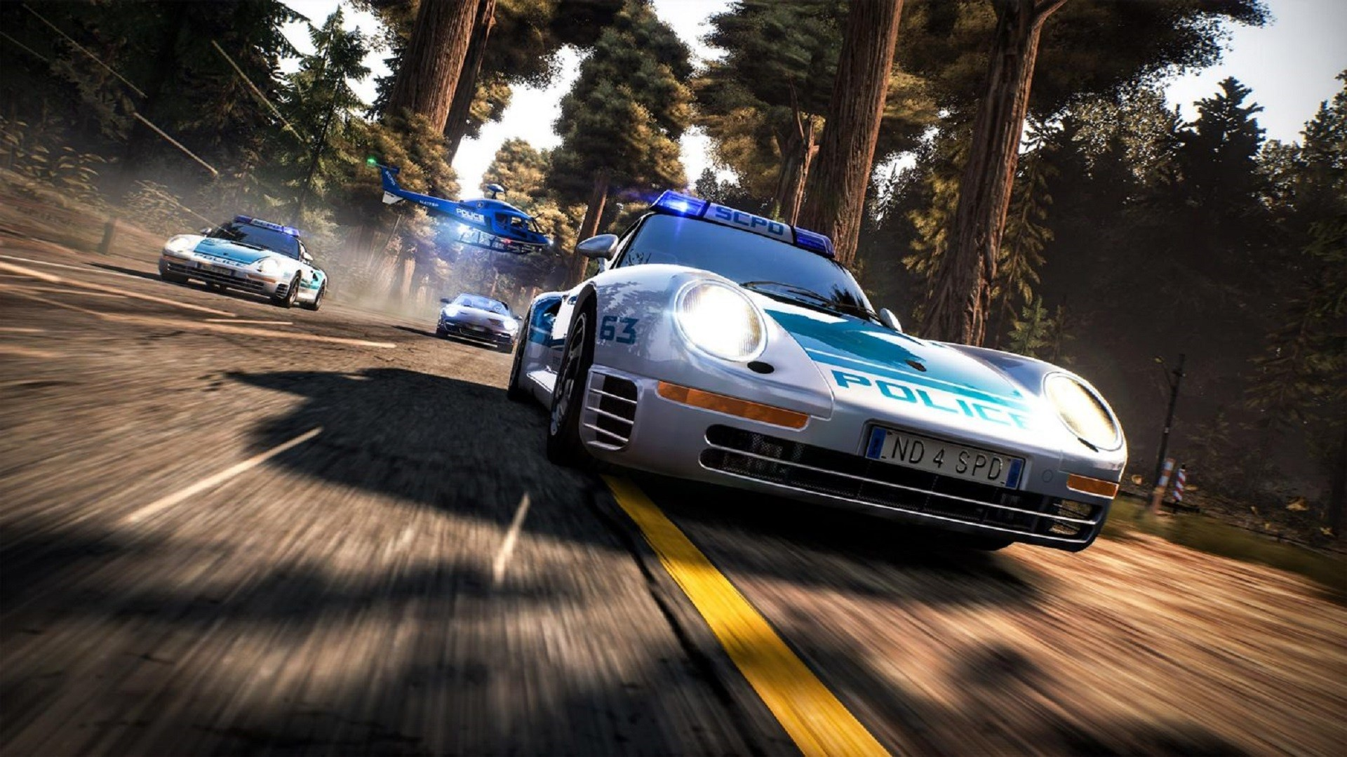 Графика Need for Speed: Hot Pursuit Remastered почти неотличима от оригинала 2010 года