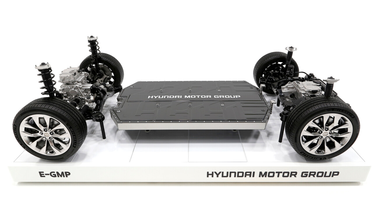 Hyundai Motor Group представила единую платформу для электромобилей E-GMP