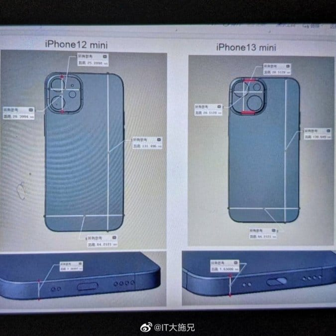 iPhone 13 mini получит двойную основную камеру